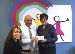 Jamestown Teacher's Association Provides Donation